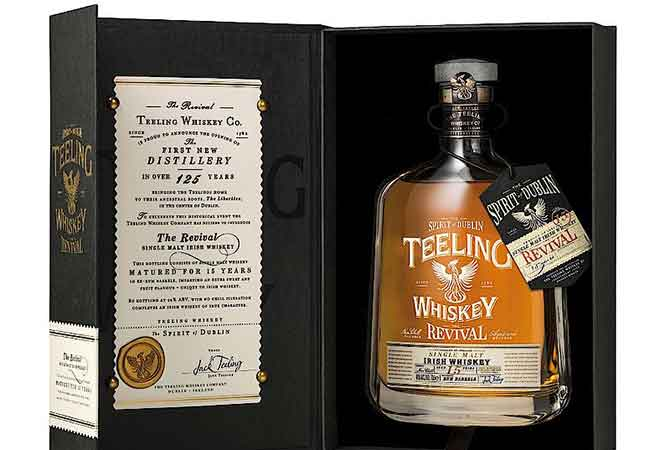 Teeling Revival Irish Whisky auf dem Markt