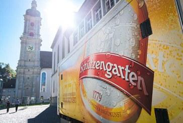 Brauerei Schützengarten mit gutem Ergebnis