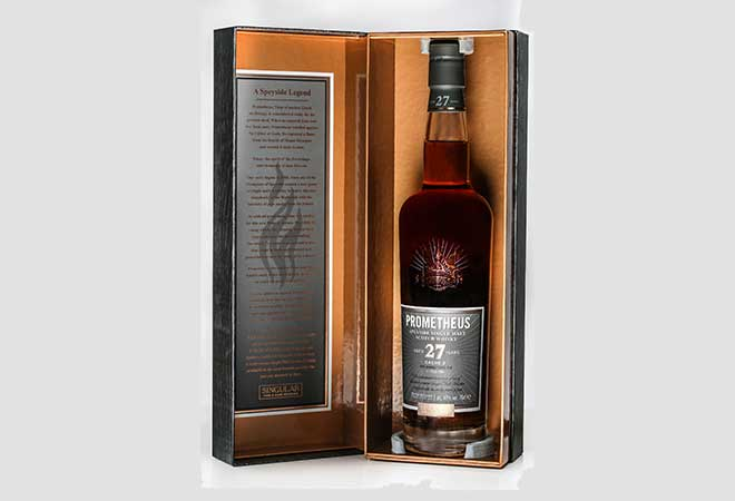 Global Launch des Prometheus 27 Year Old Single Malt Whisky