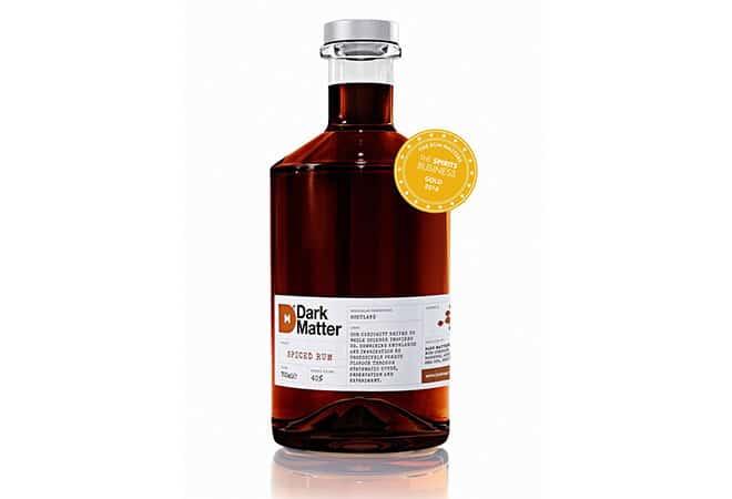 Dark Matter Spiced Rum holt Gold bei Rum Masters 2016