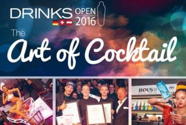 Cocktailwettbewerb DRINKS Open 2016 geht in nächste Runde