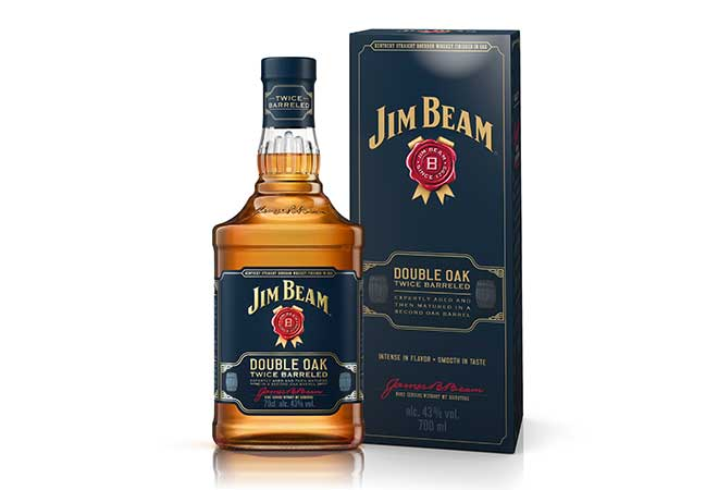 Beam Suntory launcht Jim Beam Double Oak