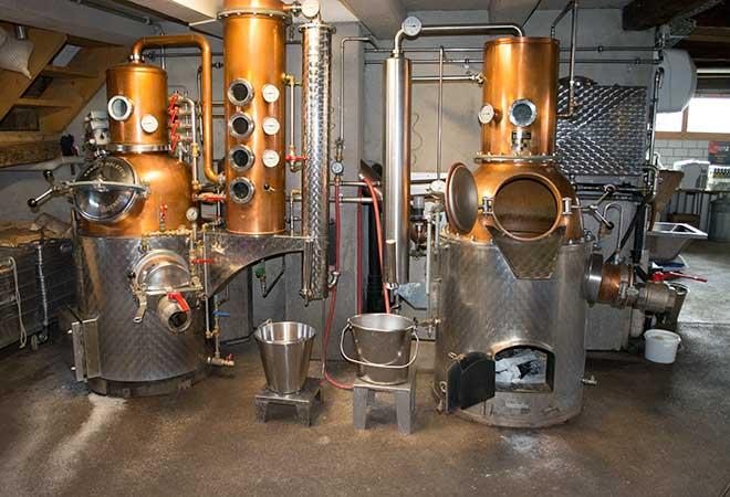 Schweizer Spirituosenimporte sinken