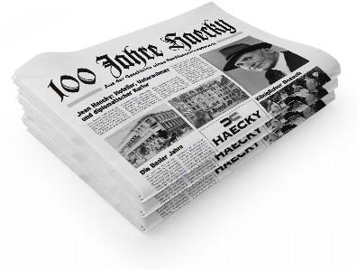 Jubiläumszeitung 100 Jahre Haecky