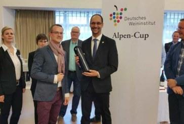 """Stefan Schachner gewinnt den """"Alpen-Cup"""" des Deutschen Weininstituts"""