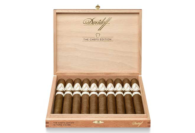 Davidoff Cigars lanciert Limited Chefs Edition