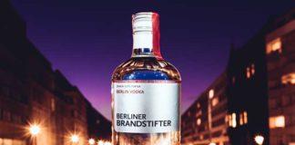 Berliner Brandstifter präsentiert Vodka aus Zuckerrüben