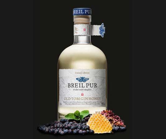 BREIL PUR lanciert Old Tom Gin Honey