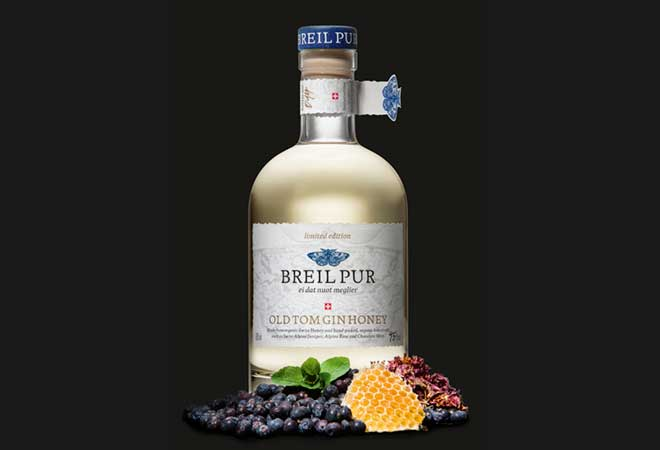 BREIL PUR lanciert Old Tom Gin Honey