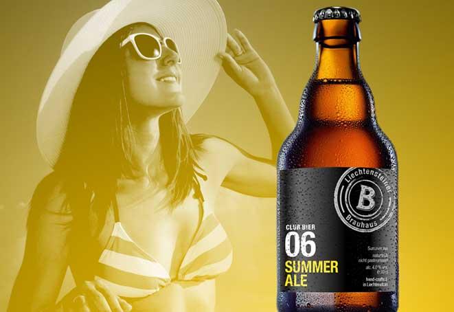 Liechtensteiner Brauhaus lanciert CLUB BIER 06 SUMMER ALE