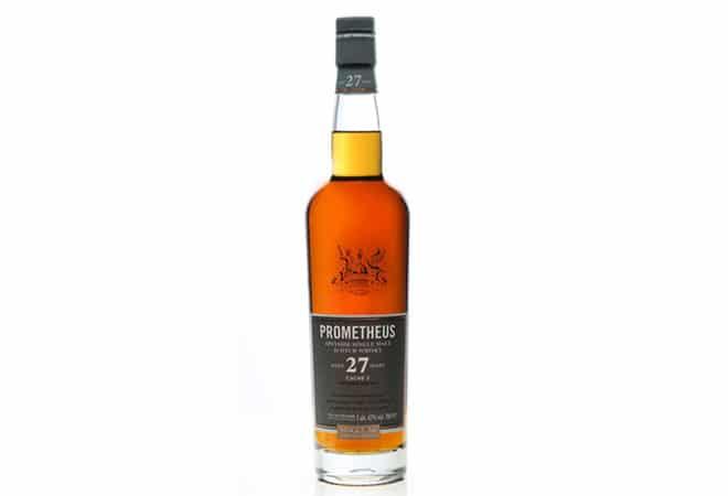 Gold für Prometheus Whisky 26 Years Old