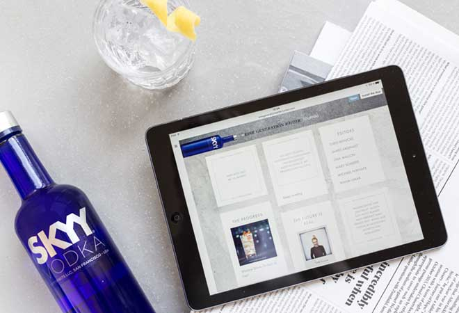 SKYY Vodka launcht eigenes Lifestyle-Journal