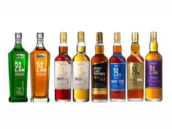Kavalan Whisky gewinnt ISC