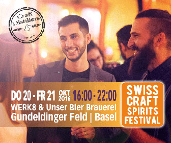 Banner Swiss Craft Spirits Festival