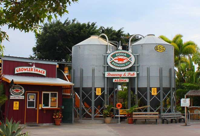 Kona Brauerei auf Hawaii