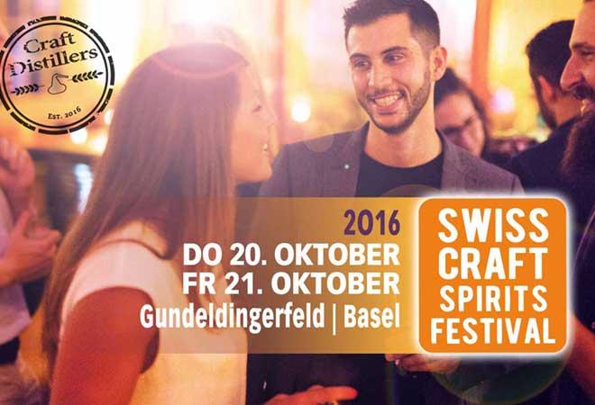 Swiss Craft Spirits Festival Basel: 5×2 ermässigte Tickets zu gewinnen!