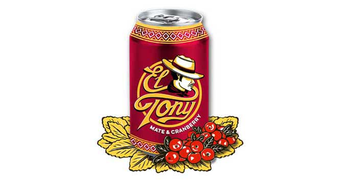 El Tony Mate Cranberry