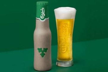 Carlsberg enthüllt Design der neuen Gewebe-Flasche
