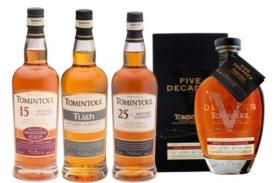 Tomintoul Distillery launcht vier neue Abfüllungen