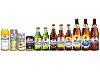 Calanda Bier mit neuem Design