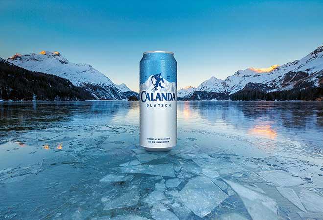 Calanda Glatsch: Neues, eiskalt gereiftes Bier bei -3.5°C