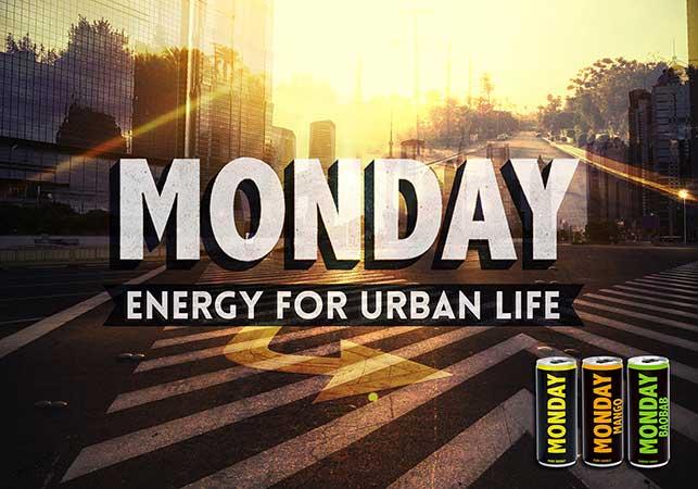 Monday Energy Drinks