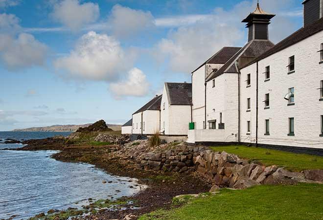 Whiskybrennerei in Schottland