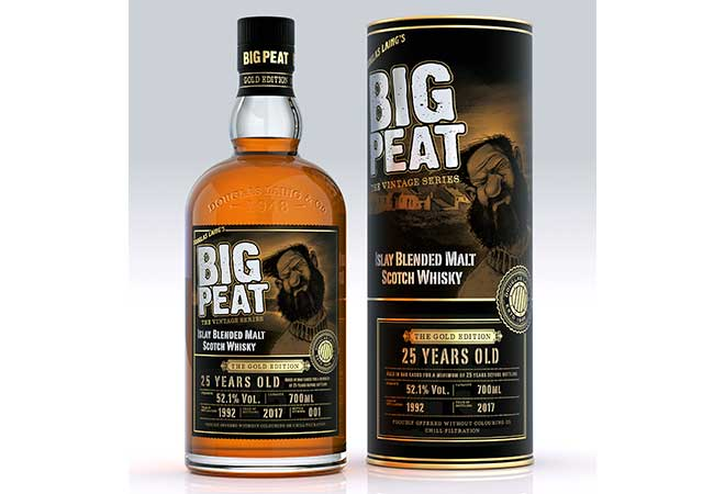 Douglas Laing & Co seine Big Peat Range und veröffentlicht mit der Big Peat 25 Y.O.