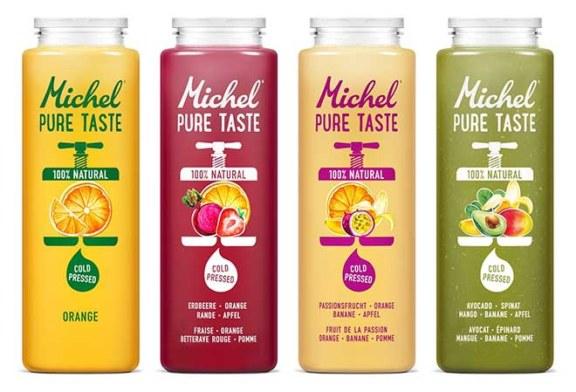 Gemüsig, fruchtig, fein – der neue grüne Frischsaft von Michel