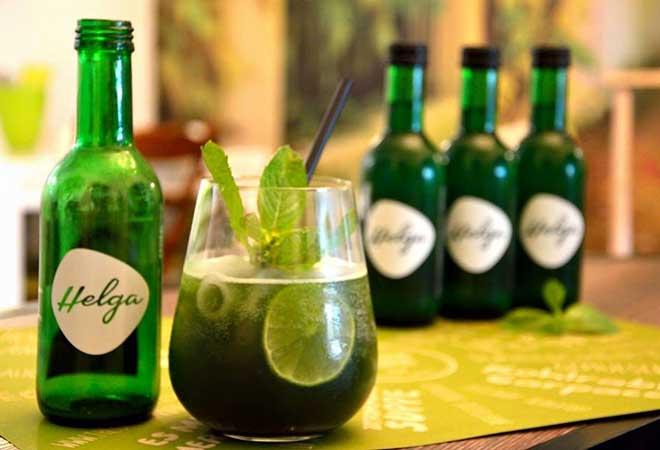 Helga - das Algengetränk