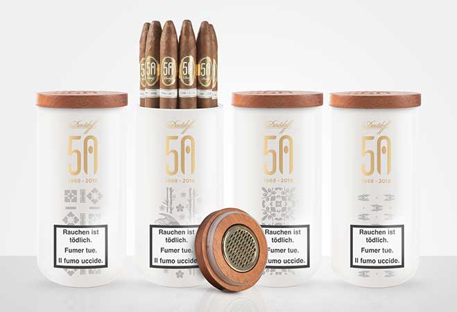 Davidoff Cigars feiert 50 Jahre feinster Zigarrenkreationen