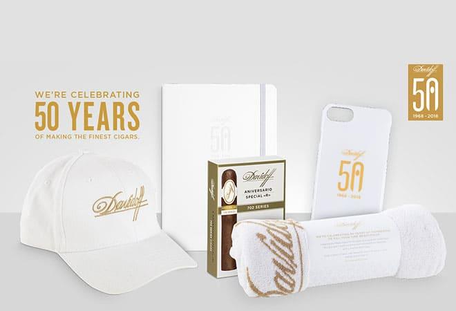 Verlosung Davidoff 50 Year Package
