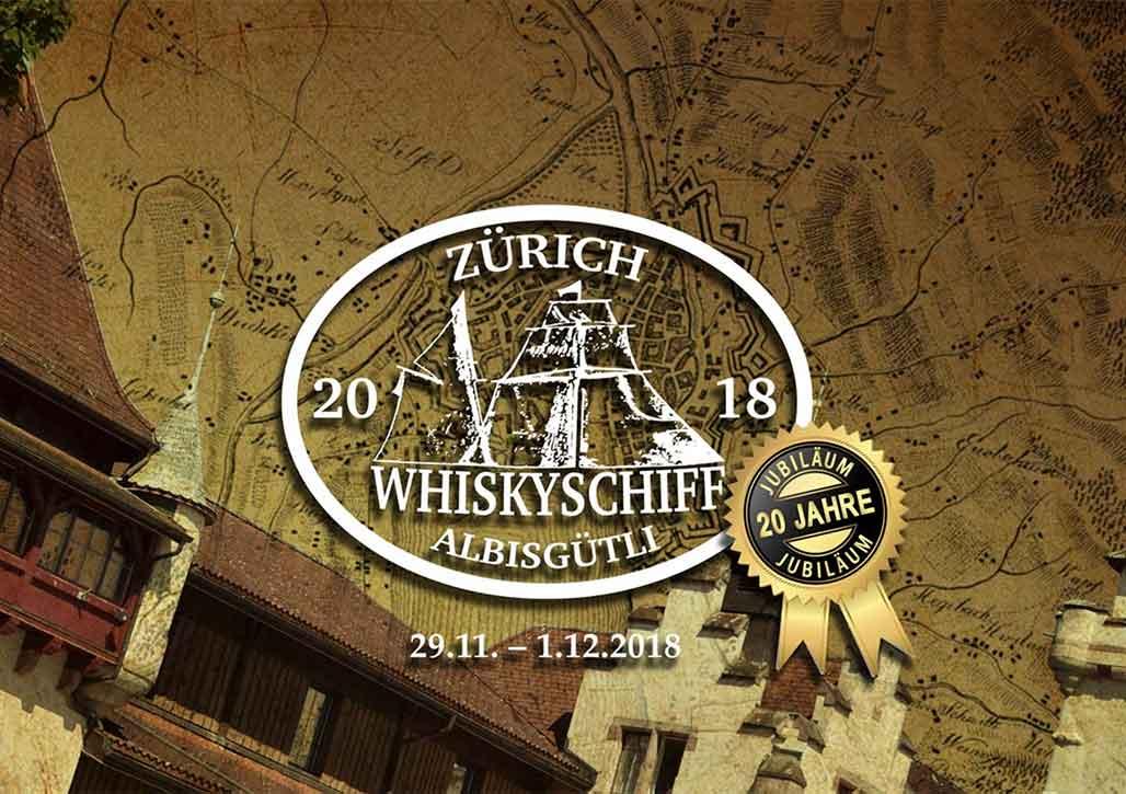 Wir verlosen 3x2 Tickets für das Whiskyschiff Zürich 2018