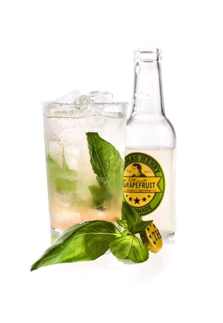 Mocktail Basil Lemonade