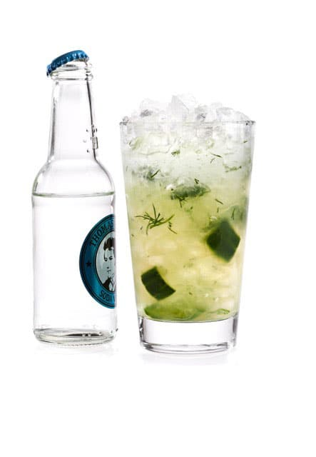 Mocktail Cucumber Lemonade
