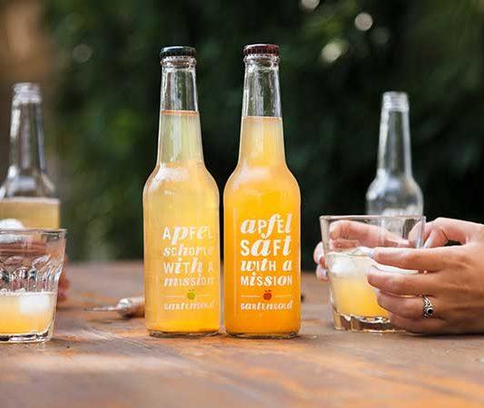 GartenGold - der Apfelsaft mit einer Vision