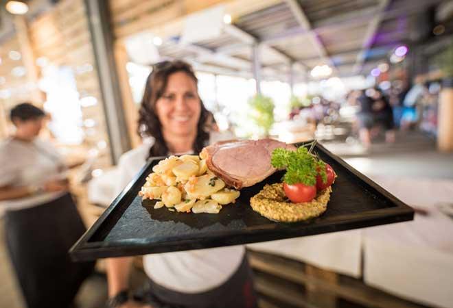 Openair Gampel: Auch für Gourmets