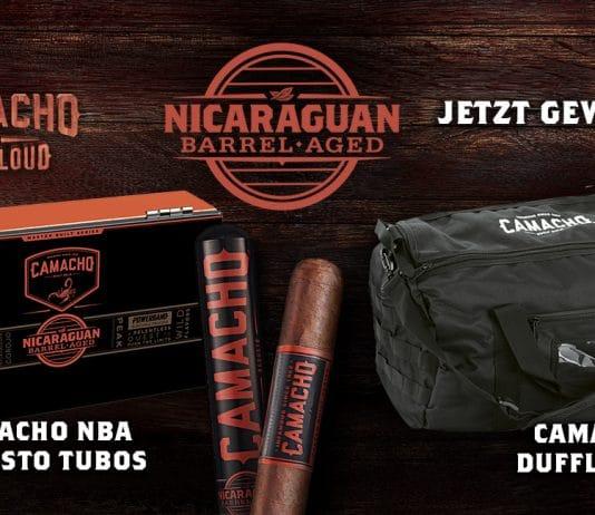 Wir verlosen ein Camacho Nicaraguan Barrel Aged Package im Wert von Fr. 180.00!