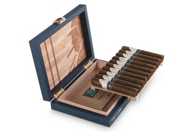 Die Winston Churchill Zigarren sind in atraktive Holzkistchen verpackt.